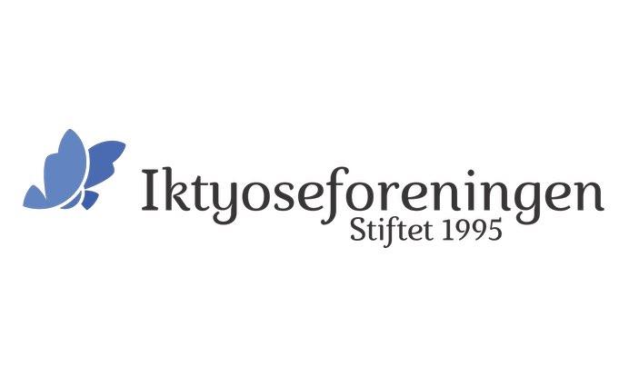 Iktyoseforeningens logo. Grafikk.