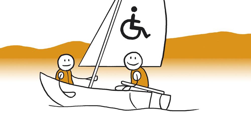 To figurer i en seilbåt