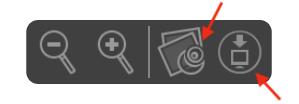 Nedlastnings symboler i Adobe PDF