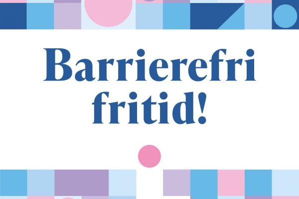 Logo til Barrierefri fritid! prosjekt